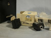 '   MINOLTA ' Minolta Off Camera Flash Shoe Adaptor Set + Inst -NICE- £8.99